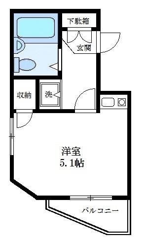 1ROOMタイプ(301号室)